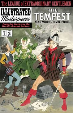 After an epic twenty-year journey through the entirety of human culture, Alan Moore and Kevin O'Neill conclude both their legendary League of Extraordinary Gentlemen and their equally legendary comic-book careers with the series' spectacular fourth and fi League Of Extraordinary Gentlemen, Online Comic Books, Fun Comics, Comic Book Covers, Dark Horse, Comic Artist, Book Publishing, Gentleman, Illustration