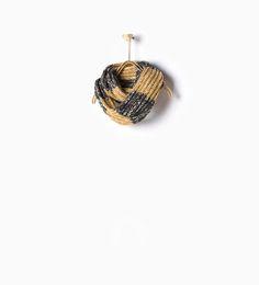 Image 1 de Col en maille assortie à rayures de Zara