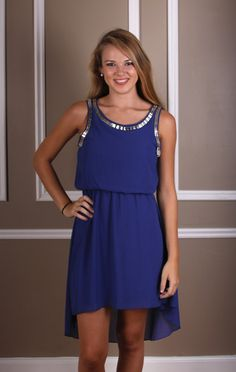 The Rupp Dress, $46.00 this high-low dress is so perfect oh my god #pintowincontest #shoppage6 #page6boutique