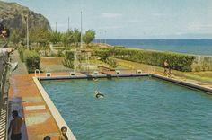 La Réunion des années 60 en photos Piscine du Barachois