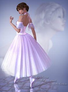 Romantic+Ballet+Tutu   Daz Poser Little Fox Ballet-Art of Dance
