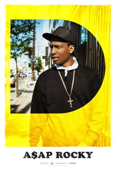 Asap Rocky Poster for the movie Dope