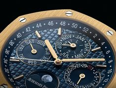 Audemars Piguet Royal Oak QP - yellow gold - dial CU