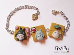 My neighbor Totoro bracelet + FREE phonestrap