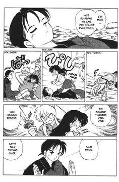 InuYasha 54: The Cursed Hand at MangaFox.me  OMG, This scene (=_=)