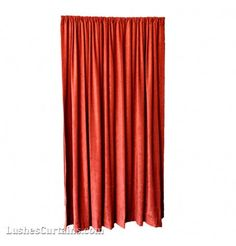 Black Long Theater Stage Sound Dampening Drapes Velvet Curtain Panel 120 inch H