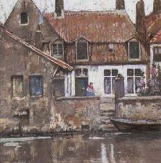 Henri Cassiers - Quay à Gand