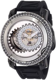 Ritmo Mundo Men's D202/9 SS BLK Diamond Persepolis Dual-Time Orbital Case Automatic Watch. $8,022.02. The price has dropped over $3,700 over the past three months.