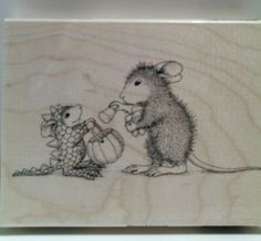 "New! House-Mouse ""Dino Treats"" WM Rubber Stamp http://www.ebay.com/itm/262540330440?ssPageName=STRK:MESELX:IT&_trksid=p3984.m1555.l2649"