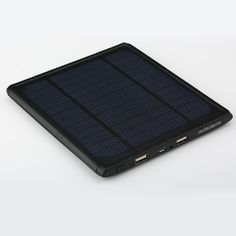 New Solar Power Bank 16000mAh Portable Charger Dual USB Powerbank External Battery Pack for IpadiphoneHTC Smart Phone