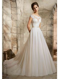 Blu by Mori Lee - Wedding Dress Style No.5362