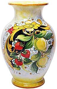 Italian pottery like this is found in Sorrento.  Absolutely gorgeous!!