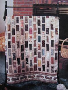 """""""Antique Bricks"""" quilt pattern"""