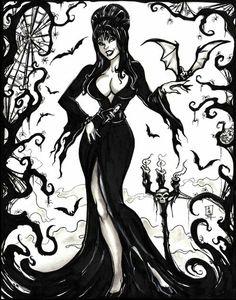 The Mistress of the Dark
