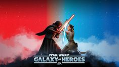 Star wars: galaxy of heroes, fight, game wallpaper