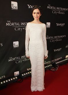 Lily Collins - 'The Mortal Instruments' Premieres in Toronto — Part 2