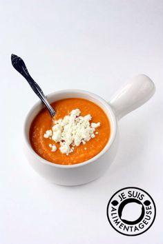 Roasted Sweet Potato Soup on MyRecipeMagic.com