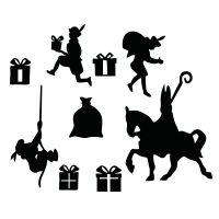 Uitbreidingsset sinterklaas herbruikbaar – Best Baby And Baby Toys Licht Box, Silhouette Curio, Craft Cutter, Winter Theme, Felt Animals, Seasonal Decor, Nicu, Baby Toys, Cutting Files