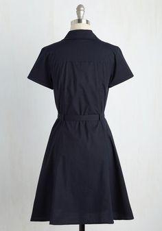 Smoothie Enthusiast Dress in Navy | Mod Retro Vintage Dresses | ModCloth.com