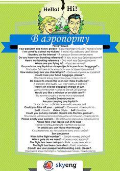 Английские слова и фразы для туристов: путешествуем на самолете