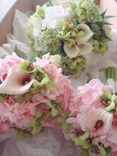 Seasonal summer bouquets