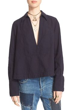 FREE PEOPLE 'Ready Or Not' Blouse. #freepeople #cloth #