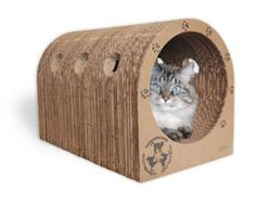 Original Catpods -  Eco-friendly trendy cardboard cat scratcher house pet furniture - unique great gift for pet lovers