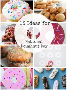 13 Crafts and Recipes for National Doughnut Day (June 5th)