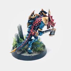 Lizardmen Warhammer, Ork Warboss, Fantasy Miniatures, Warhammer Fantasy, Painting Tips, Minis, Color Schemes, Board Games, Men