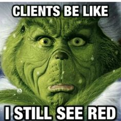 Funny hair grinch no red