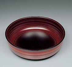 Urushi lacquer bowl by National Living Treasure of Japan, Isao ONISHI (1944~)