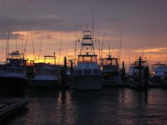 Governor's Cup Sunset ~ Edisto Marina 2012