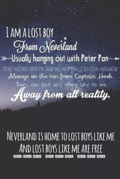 Lost boy by: Ruth b Peter Pan lost boy neverland song lyrics quotes good quotes Peter Pan quotes--this would be an amazing print by rene Song Lyric Quotes, Music Lyrics, Music Quotes, Me Quotes, Good Song Lyrics, Disney Song Lyrics, Wisdom Quotes, Lost Boy Ruth B, Lost Girl