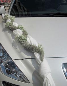 Harness, Bridal car decoration - Florist S. Kokkinos