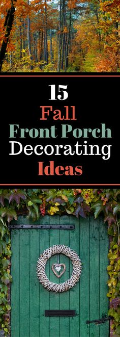 15 Fall Front Porch Decorating Ideas - Home Decor