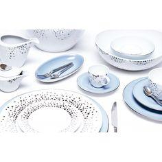 "Набор посуды Porcel ""Silver Rain"""