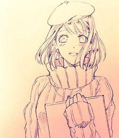 Uta no prince-sama _ Haruka Manga Drawing, Manga Art, Drawing Sketches, Anime Art, Drawings, Slice Of Life, Romance, Shoujo Ai, Vent Art