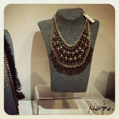 The *mayan* beaded necklace at Nymphes Art Gallery, McArthurGlen Athens #klaidra #fw15 #designers #jewelry #handmade #bohemian #ethnic #gypsy #fashion #greekdesigners #klaidrajewelry #pompom #beaded #necklace #japanese #instastyle #boho #instafashion