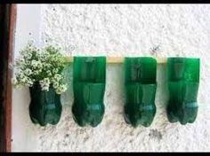 Resultado de imagen para ideas recicladas con botellas plasticas