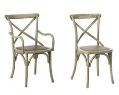 Bosquet Chair Set #WilliamsSonoma  I love these chairs in honey!!