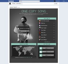 "Tomorrow Awards Fall 2012 Winner! ""One Copy Song"" by R/GA"