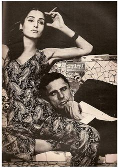 Richard Avedon, Naty Abascal et Helio Guerreiro, Harper's Bazaar USA 1965