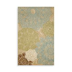 These rugs are strong enough to be used outdoors, but beautiful and soft enough for inside the home! With a unique and intricate pattern, they will surely be the conversation piece of any room. Hand made of poly-acrylic fibers and UV stabilized to slow do