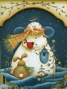 How sweet is this for winter? One of Renee Mullins designs!