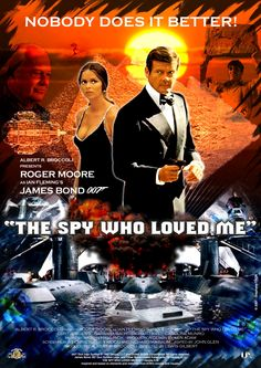 Roger Moore in Bond. Loved it James Bond Movie Posters, James Bond Movies, Roger Moore, James Bond Party, Spy Who Loved Me, Star Wars, Sean Connery, Hindi Movies, Movies To Watch