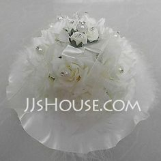 Ring Pillow - $18.39 - Wedding Ring Pillow In Lace With Music Box(103018234) http://jjshouse.com/Wedding-Ring-Pillow-In-Lace-With-Music-Box-103018234-g18234