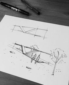 how to draw a face Architecture Concept Diagram, Architecture Sketchbook, School Architecture, Architecture Details, Landscape Architecture, Landscape Design, Bus Stop Design, Landscape Concept, Zaha Hadid