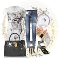 A fashion look from June 2014 featuring embellished t shirt, True Religion and topshop shoes. Browse and shop related looks. Shoe Bag, Polyvore, Shoes, Collection, Shopping, Design, Women, Fashion, Moda