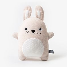 Image of Noodoll Riceturnip Plush- Cream Bunny Rabbit Soft Toy Fabric Toys, Bunny Plush, Baby Kind, Diy Toys, Softies, Plushies, Handmade Toys, Baby Gifts, Sewing Projects