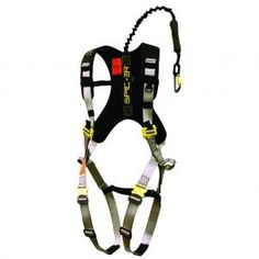 Lightweight and tangle-free, the Spider Speed Harness blends innovative design with user-friendly features for fast, safe operation in and out of a treestand. The patented Spider Speed Clips integration system provides quick hookups. X-Web fit system with adjustable shoulder straps and leg adjustments for a comfortable, custom fit. Leg adjustments have two high-quality, Venom leg buckles. Adjustable chest strap has a durable YKK buckle. Ario mesh back for ventilated comfort. Vertical…